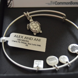 Charity by Design: ALEX AND ANI. The Sea Turtle. photo belong to keiannajohnson.com